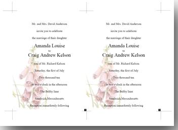 Foxgolve template page pdf printing designer tool 425 x 575 invitation template stopboris Choice Image