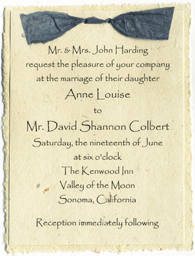 click to order printed and assembled invitations