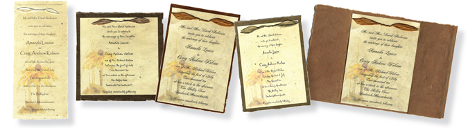 Seeded Custom Invitations