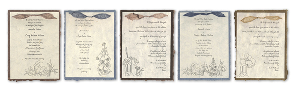 Invitation Templates Wildflower Collection Invitations you can