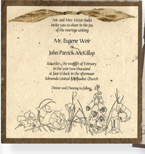 "6"" x 6"" invitation overlay"